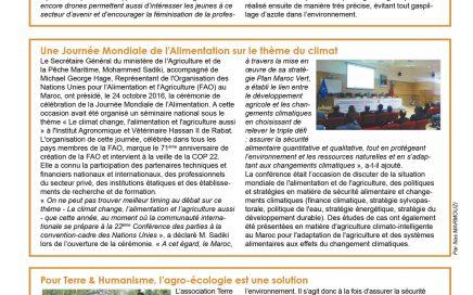 Dossier spécial COP22 - FOOD Magazine