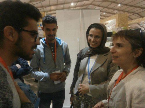 Visite de Aicha Rochdi