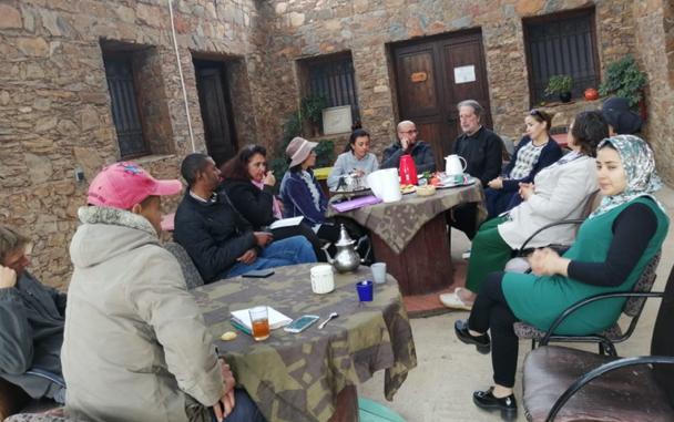 VISITE DE L'ASSOCIATION BOUREGREG AU CIPA-PIERRE RABHI FEVRIER 2019
